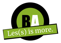 les(s) is more